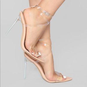 Clear Nude Heel (Open toe)